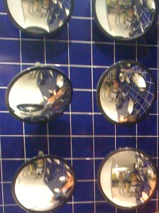 mirrors, reflection, recurring dreams